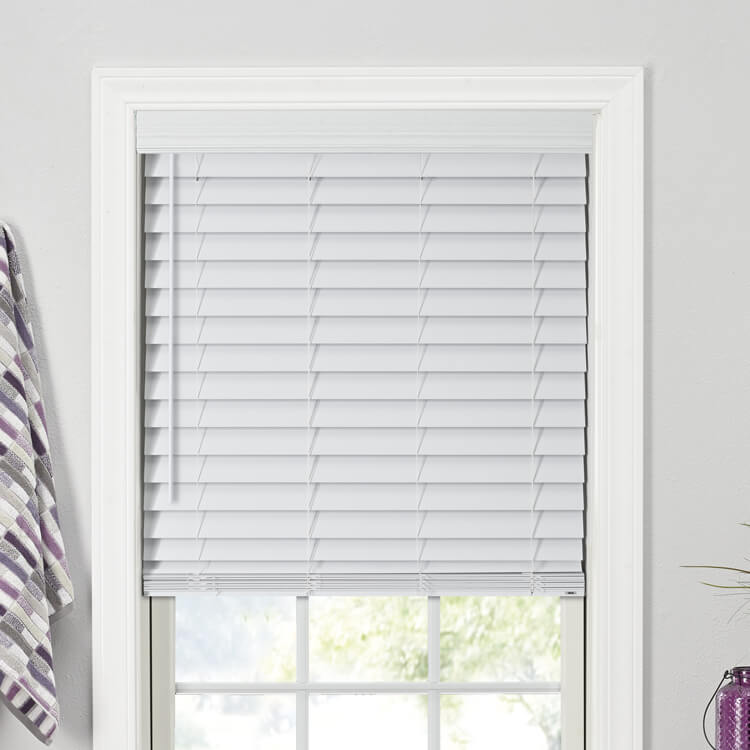 Shop 2 189 Quot Faux Wood Blinds Costco Bali Blinds And Shades