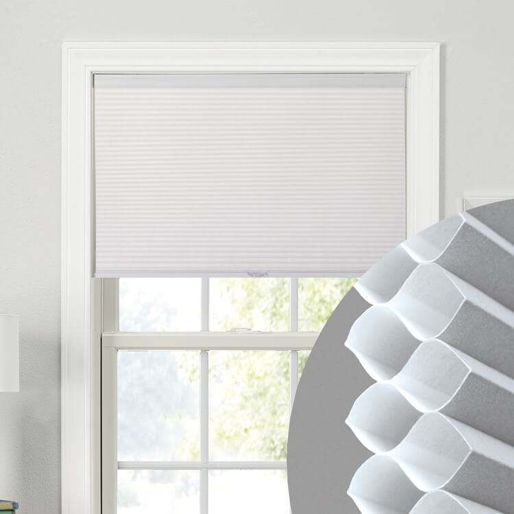 "3/8"" Double Cell Cellular Shades"