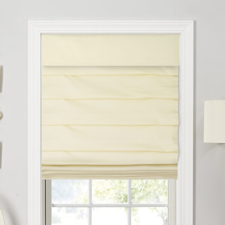 Looped Tailored Roman Shades