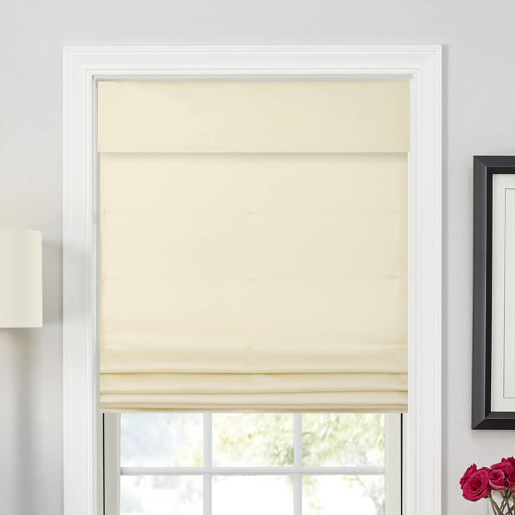 Seamless Tailored Roman Shades
