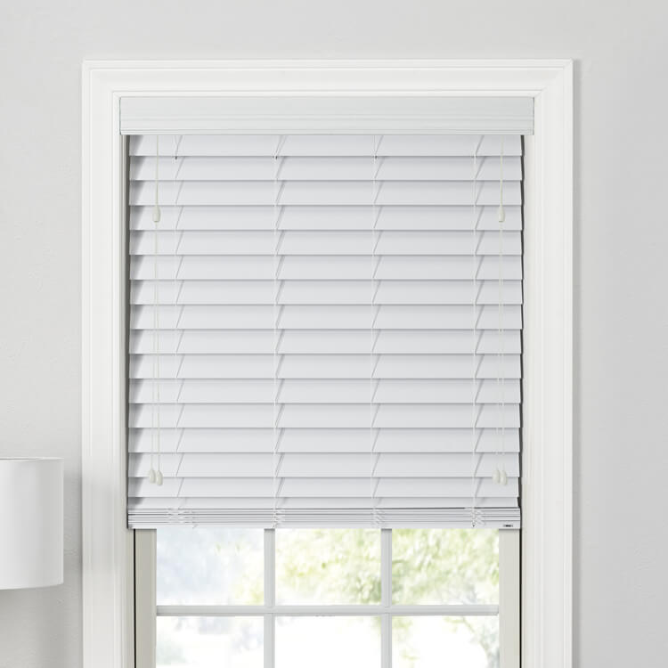 "Value 2"" Faux Wood Blinds"