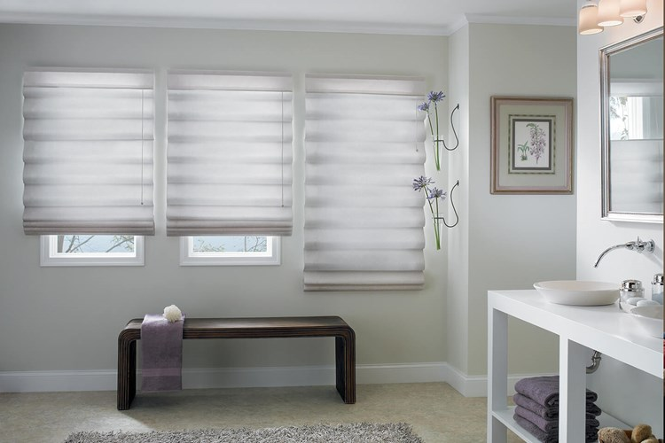 Looped Roman Shades