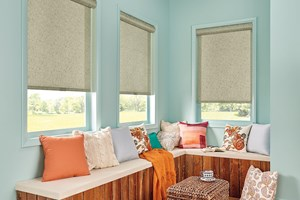 Solar Shades with Cordless Lift